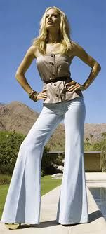 late 70's fashion - Totally diggin these flares
