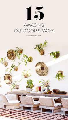 Looking for patio inspiration? These outdoor spaces will be sure to do the trick