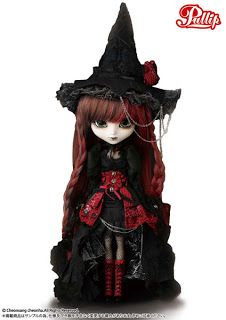 In August 2013, just in time for Halloween, the Pullip doll company will release their new Wilhelmina witch doll.