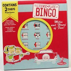 Travel Bingo - Interstate Bingo for only $5.99