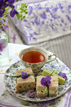 afternoon tea in the summer porch at Aiken Home and Garden...