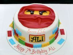 ninjago birthday cake - eh, aunt Erika? Could I have this one please?