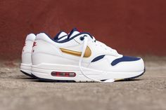 "A Closer Look at the Nike Air Max 1 Essential ""Olympic"""