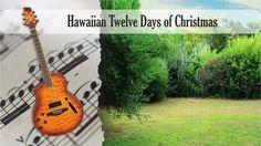 Partitura y Tablatura Hawaiian Twelve Days of Christmas Guitarra Acústica