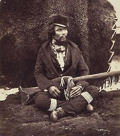 Saulteaux/Metis man from Red River Settlement in Manitoba, Canada - 1858 Native American Print, Native American Tribes, Native Americans, Commonwealth, Aboriginal People, Canadian History, Canada, Red River, Expo