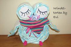 Windeltorten by Evi: Windeleule Mädchen
