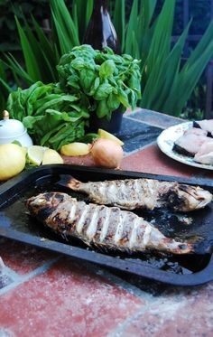 Wood Fired Oven Salt-Roasted Fish - Recipes - The Stone Bake Oven Company