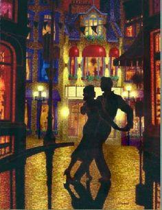 As Cores Da Arte: Dançando na Chuva....Denis Nolet
