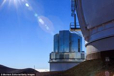The 'fluffy' galaxies, seen by the 8.2 metre Subaru Telescope (pictured), are very large –...
