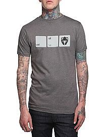 HOTTOPIC.COM - Doctor Who Cyberman Ctrl Alt Del T-Shirt