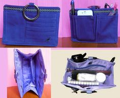 New in Stock. Check out our new Grape/Purple Pouchee Handbag Organiser, now in stock on our www.SecretFashionFixes.com online store.