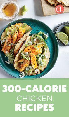 300-Calorie Chicken Recipes
