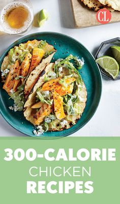 Fortunately, there's an easier way to go about the math of weight loss than tracking down nutritional info and logging every bite: build a strong portfolio of delicious low-calorie meals and let it do the work for you. We'll get you started with this collection of chicken recipes that are short on calories but big on flavor. | Cooking Light