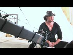 """Trace Adkins- Behind the Scenes """"This Ain't No Love Song"""" Music Video"""