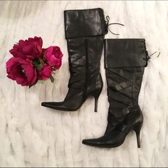 Black boots Black tall boots from Bakers (not aldo) ALDO Shoes Heeled Boots