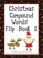 Classroom Freebies Too: Christmas Compound Word Flip Book II