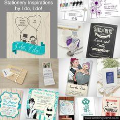 Stationery Inspirations by I do, I do!   http://www.weddingscene.co.za/inspirations.html