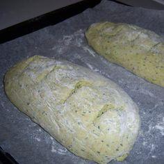 pane integrale al pesto
