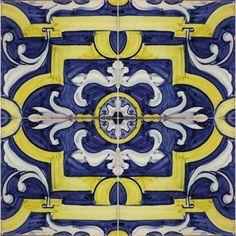 Solar Antique Tiles - 16th Century Spanish - 16th Century Spanish - E-16-31