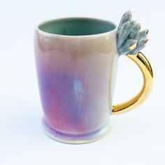 (✿◡‿◡), silver-lining-ceramics: These mugs and more will...