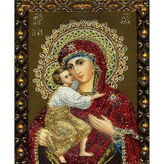 Mosaic 5D DIY Diamond Painting Religious Icon Home Decoration Diamond Embroidery Classic Style Square Rhinestone Painting