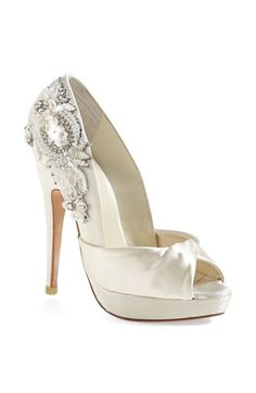 Beautiful heel detail Menbur 'Narke' Pump | Nordstrom