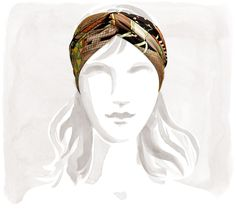Scarf turban | Hermès, Official Website