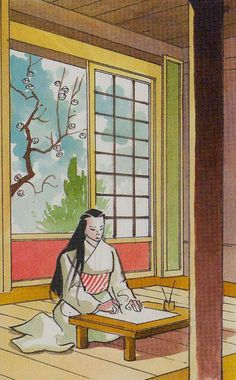 Queen of Wands - Samurai Tarot by Massimiliano Filadoro, Giancarlo Caracuzzo