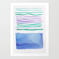 Lines & Color Block Series October 2018 Abstract Watercolor Art, Butterfly Watercolor, Watercolor Pattern, Watercolor Print, Pastel Watercolor, Watercolor Artists, Watercolor Dreamcatcher, Art Prints For Home, Art Prints Quotes