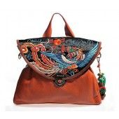 Chinese Phoenix Embroidered Shoulder Bag 75