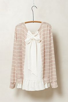 Yes please! Ruffled hem pullover (this is the back view).