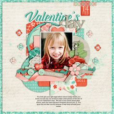 Layout: Valentine's Day