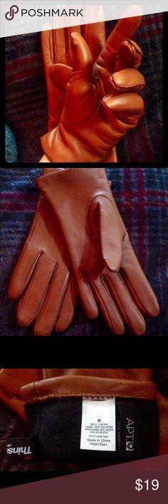 Leather Gloves Apt 9 Ladies M *BRAND NEW* Ladies Size Medium Leather Gloves Apt. 9 Accessories Gloves & Mittens