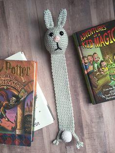 Ravelry: The Reading Bunny Bookmark pattern by Ashlea Konecny - free