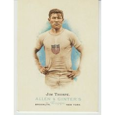 JIM THORPE 2006 Allen & Ginter's World's Champions card # 314. Track and Field Listing in the Non-Graded,2000-2010,Singles,MLB,Baseball Cards,Sports Trading Cards,Sport Memorabilia & Cards Category on eBid United States | 156599611