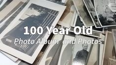 100 Year Old Photo Album and Photos / Vintage photos and Photo Album / old black and white photos Old Photos, Vintage Photos, Mixed Media Art, Year Old, The 100, Album, Black And White, Artist, Old Pictures