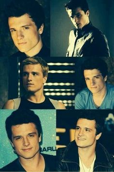 Josh hutcherson peeta how is this so beautiful?