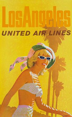 Come Fly With Me - Airline Travel Posters Of Yesteryear
