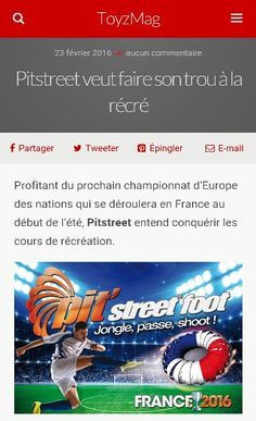 #toys #jouets #foot #euro2016