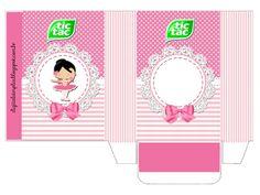 "caixinha tic tac  Kit de Personalizados Tema ""Bailarina Rosa"" para Imprimir - Convites Digitais Simples"
