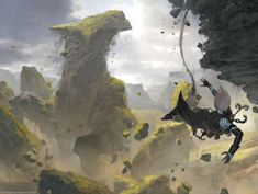Sheer Drop - MTG by ClintCearley.deviantart.com on @DeviantArt