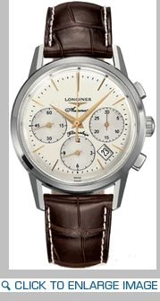 Longines Heritage Chronograph with Gold Hands