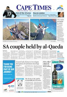 SA couple held by al Qaeda