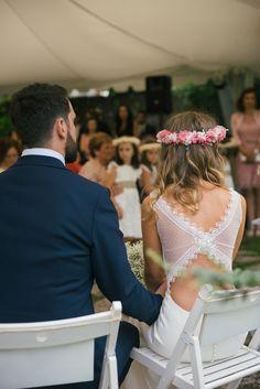 Espaldas de novia espectaculares; Paredero Quiós