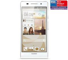 /** Priceshoppers.fr **/ Smartphone Ascend P6 blanc - Smartphone