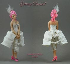 The Creative Doll: Corset Tutorial