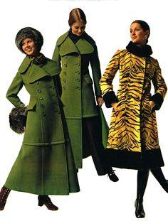 1970's maxi coats