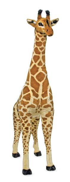 Melissa and Doug Kids Toys, Kids Plush Large Stuffed Animal Giraffe Kids - All Toys & Games - Macy's Giraffe For Kids, Giant Giraffe, Giraffe Stuffed Animal, Large Stuffed Animals, Giraffe Toy, Pet Toys, Kids Toys, Baby Toys, Baby Baby