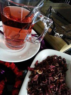 LE  RICETTE DI CHARA: Tisana di Karkadè ( Τσάι καρκαντέ )