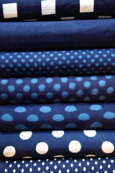 久留米絣 藍染手織り 切り売り開始